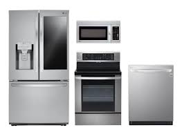 stainless steel appliances. Fine Stainless LG Stainless Steel Suite  Refrigerator Range Microwave Dishwasher In Appliances T