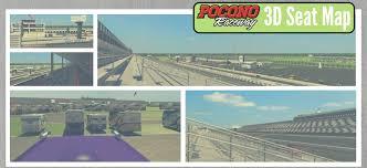 Pocono Raceway Adds 3d Map Feature Pocono Raceway Pocono