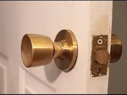 how to fix a door knob. how to remove old door knob without visible screws fix a i