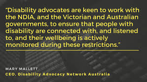 Police checkpoints may be bolstered around melbourne soon to ensure people keep within the city. Joint Media Statement On Victorian Restrictions Disability Advocacy Network Australia
