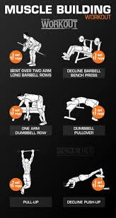 m building chest workout muscle gain workout plan for beginners pdf