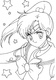 Small Picture Sailor Jupiter Coloring Page Coloring Pages of Epicness