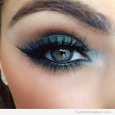 eye makeup with emerald green shadow to make your eyes pop eye makeup makeup eye and smokey eye makeup