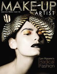make up artist magazine cover