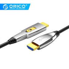 ORICO Micro HDMI/HDMI sang HDMI Đực Cổng cáp quang Video Cáp cho Máy Tính  cho iMac cho Linux cho Chiến Thắng|Cáp HDMI