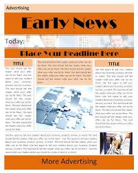 Newspaper Report Template Microsoft Word Major Magdalene