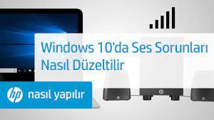 Windows 10'da Ses Sorunları Nasıl Düzeltilir | HP Bilgisayarlar