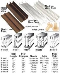 epco sliding glass door track assemblies