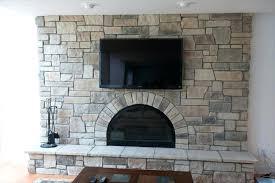 rock veneer fireplace cobble stone fireplace installing stone veneer fireplace over brick