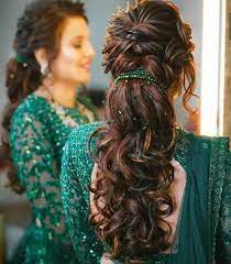 If you have a long frock and dresses for the reception, this hairdo can be ideal and a perfect match. 15 Charming Indian Wedding Reception Hairstyles Styles At Life
