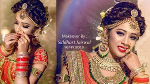indian bridal makeover makeup artist siddhart jaiswal photographer loukik das