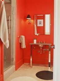 Image Walls Marthaangusredbathroom Hgtvcom Red Bathroom Decor Pictures Ideas Tips From Hgtv Hgtv