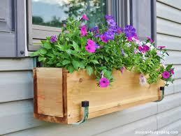 Diy Window Boxes Hanging Window Planter Dors And Windows Decoration