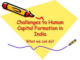 Problem In Process Of Human Capital Formation Vskills Blog