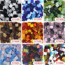 200g 270 pcs 10 x 10mm 3 8 inch mix stained jpg