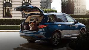 2018 infiniti suv qx60. contemporary infiniti compare the 2018 qx60 crossover motion activated liftgate to audi q7  acura mdx throughout infiniti suv qx60