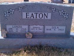 Lela Brenton Eaton (1922-Unknown) - Find A Grave Memorial