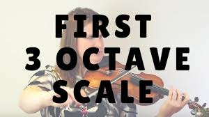 Your First 3 Octave Major Scale On The Violin Or Viola Violin Lounge Tv 222