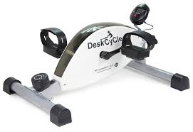 com deskcycle desk exercise bike pedal exerciser white desk cycle sports outdoors