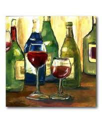 take a look at this wine bottles glasses canvas wall art by courtside market on zulily today  on large wine bottle wall art with wine art decco http images fineartamerica images medium large