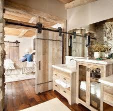 rustic bathroom. hardwood floor rustic bathroom