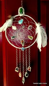 Wire Wrap Dream Catcher Tutorial Dream Catcher Handmade Wire Wrapped Metaphysical Stones Wire 39