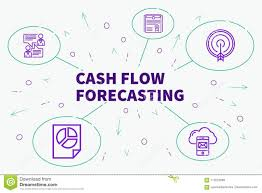 Conceptual Business Illustration With The Words Cash Flow