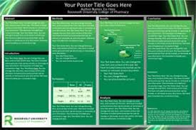Free Powerpoint Poster Template Roosevelt University Research Poster Templates Makesigns