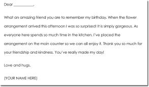 Thank You Note Examples Birthday Gift Thank You Notes Wording Examples