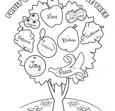 Free Bible Coloring Pages Fruit Of The Spirit The Art Jinni