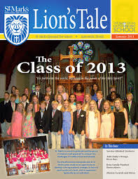 St. Mark\u0027s Lions Tale Summer 2013 by St. Mark\u0027s Episcopal Day ...