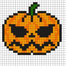 Vous êtes à la recherche des meilleures inspirations pixel art pikachu? Pixel Art Citrouille Par Tete A Modeler