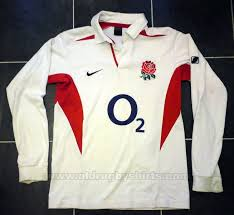 england home rugby shirt 2003 2005