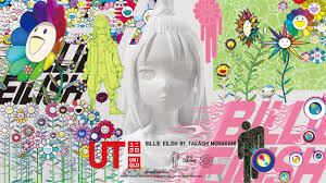 47 best art images art kaws wallpaper art toy. Billie Eilish And Takashi Murakami Teamed Up For Uniqlo Ut Collection Teen Vogue