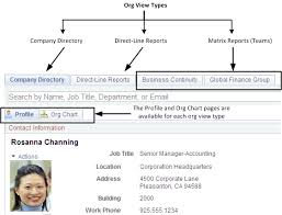 Peoplesoft Organizational Chart Understanding Org Chart Viewer And Company Directory