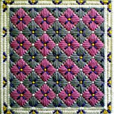 Tapestry Charts Free 6 Free Bargello Needlepoint Patterns For The Weekend
