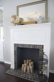 this faux fireplace is probably a mantel purchased from an antique and backed with a mirror but i couldn t resist why because occasionally you can