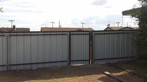 metal privacy fence. Exellent Fence Metal Privacy Fence Throughout A