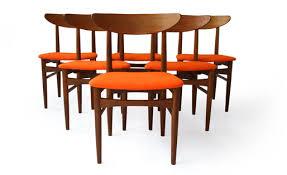 skovby teak dining chairs