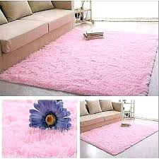 generic fluffy carpet light pink 5 x 8 extremely comfortable colors