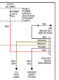 tekonsha wiring diagram wirdig check fusible link k it s a 40a fuse looking thing in the