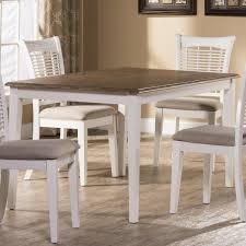 white rectangular dining table. Hillsdale Bayberry White Rectangular Dining Table - Item Number: 5791-814
