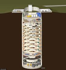 Nuclear Missile Silo For Sale Survival Condo Project Built 15 Storeys Underground In Cold War