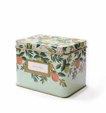 Decorative Recipe Box Recipe Boxes Cards Home Shop RIFLE PAPER Co 15