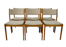 cozy danish teak dining chairs stunning modern furniture vine 70 s