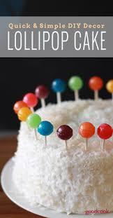 Rainbow Lollipop Cake Recipe Kid Friendly Recipes Lollipop