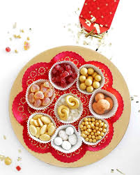 Lunar New Year Candy Tray | Chinese new year food, Chinese new year  decorations, Chinese new year party