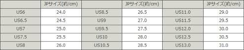 Vans Size Chart Japan Bedowntowndaytona Com