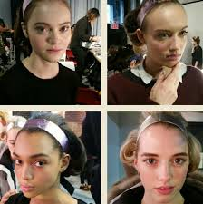 best makeup trends swatches looks from nyfw fall winter 2016 2016 fresh faced beauty luminous and dewy skin beautystat