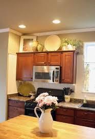 decorating above kitchen cabinets. 42 Best Decor Above Kitchen Cabinets Images On Pinterest Decorating C